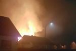 Brand aus Nachbarstraße