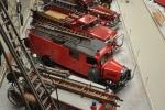 Blick über die Feuerwehrreihe