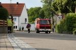 FFW Bächingen trifft ein