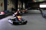 JF beim Kartfahren