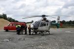 Abstimmung zum Hubschraubereinsatz