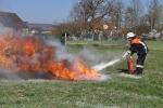 Feuerlöscherübung