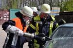 Station hydraulische Rettungsgeräte
