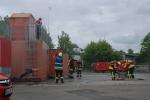 Übungslage 1: Werkstattbrand