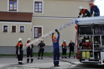 Einsatz tragbarer Leitern