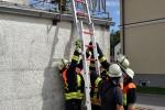 Unterstellen von Leiterteilen