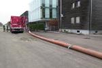 Saugbagger Rohr verlängert