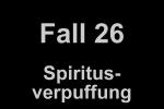 Spiritusverpuffung