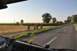 Radweg Richtung Günzburg