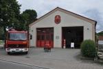 Feuerwehrhaus als Abholstelle