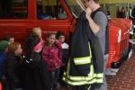 Ausrüstungsteile der Feuerwehrleute
