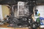 Bild zu Teil 9: Küchenbrand