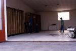 Ausräumen der alten Halle