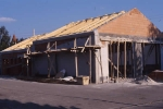 Dachstuhl für neues Satteldach
