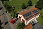 Gerätehaus von oben Juni 2006