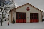Gerätehaus im Winter 2010