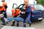 Rettung des Fahrers