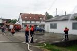 Gebäudebrandbekämpfung