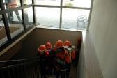 Räumen der Kegelbahn
