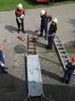 Leiternhebel im Aufbau
