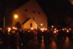Treffpunkt an der Kirche