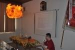Brennen und Löschen: Staubexplosion
