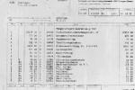 Rechnung zum TSF von 1971