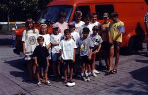 Teilnehmer des 1. Ferienprogramms