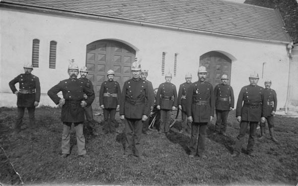 Feuerwehr Bächingen in der Schloßremise