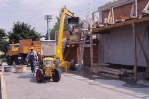 Anbau und Sanierung 1989 / 1990