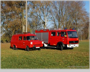 Fahrzeuge in der Herbstsonne, 1280x1024