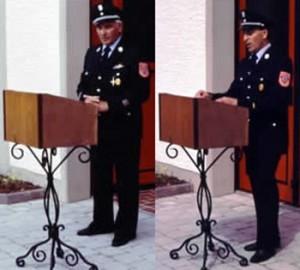 Kommandoübergabe 1990