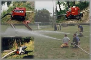 Unter Motorspritzen können Sie sich über einige der wichtigsten Geräte der Feuerwehr – die Tragkraftspritzen – informieren.