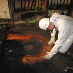 Brandortarbeit Ursachenerforschung